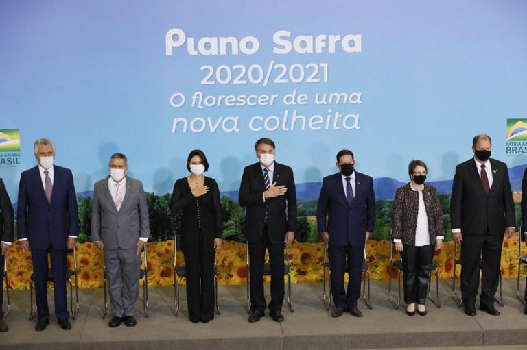 Cerimônia marca lançamento do Plano Safra 2020/21