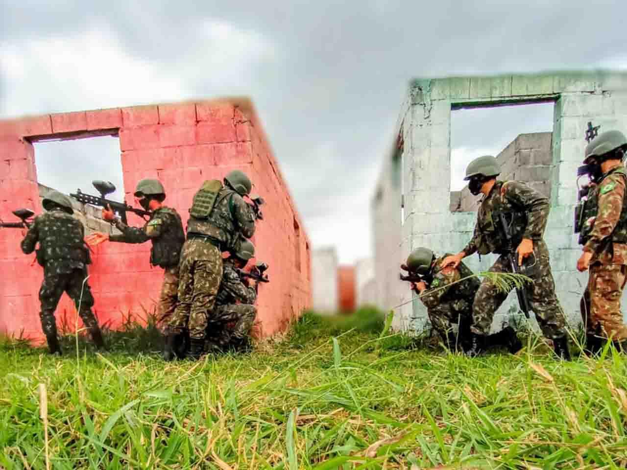 Adestramento da Força de Atuação Estratégica do Batalhão