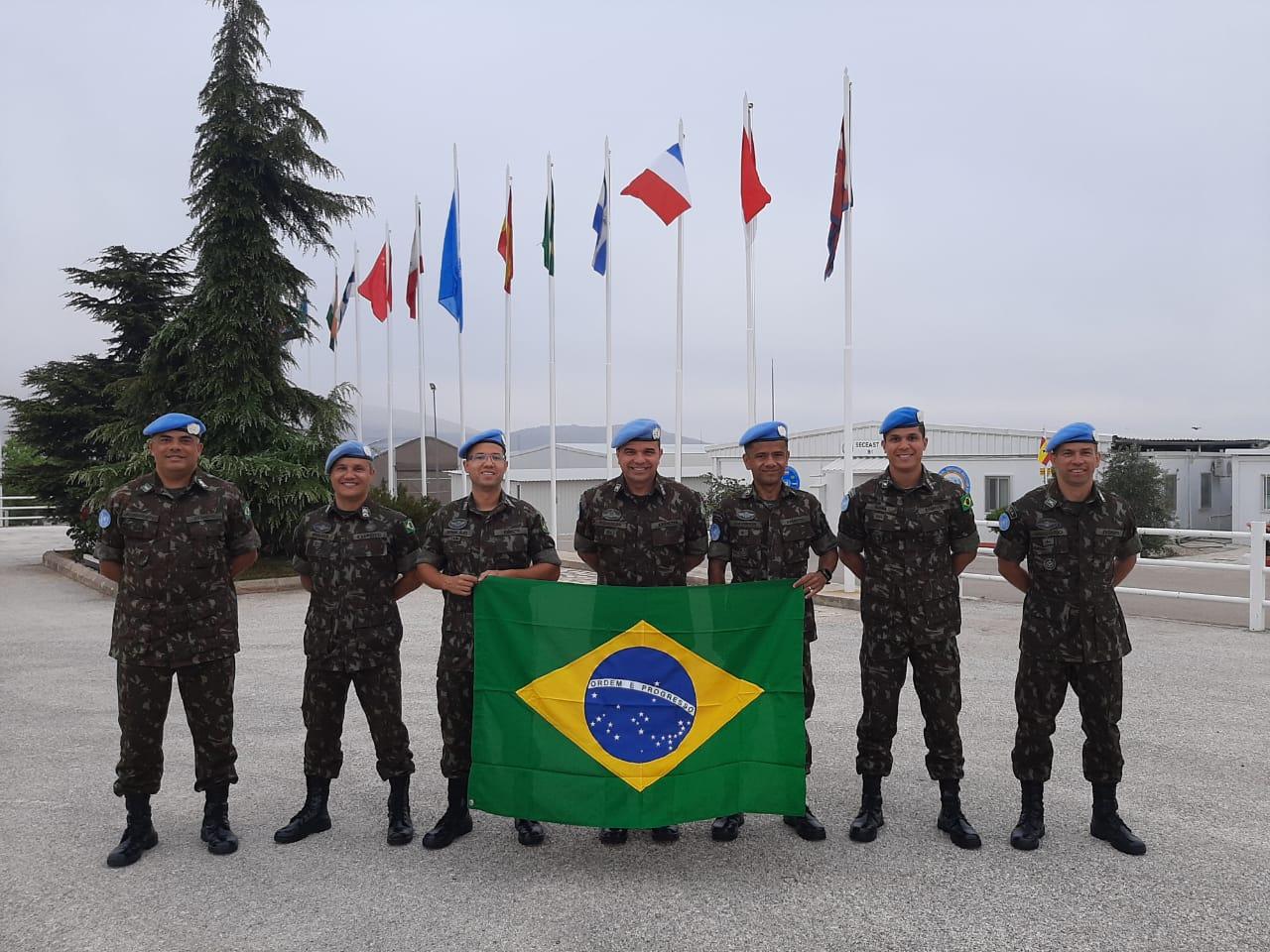 Rotação de contingentes do Exército Brasileiro na Força Interina das Nações Unidas no Líbano