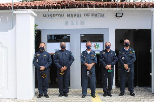 Comandante da Marinha inaugura Núcleo de Atendimento ao Idoso na Marinha em Natal-RN