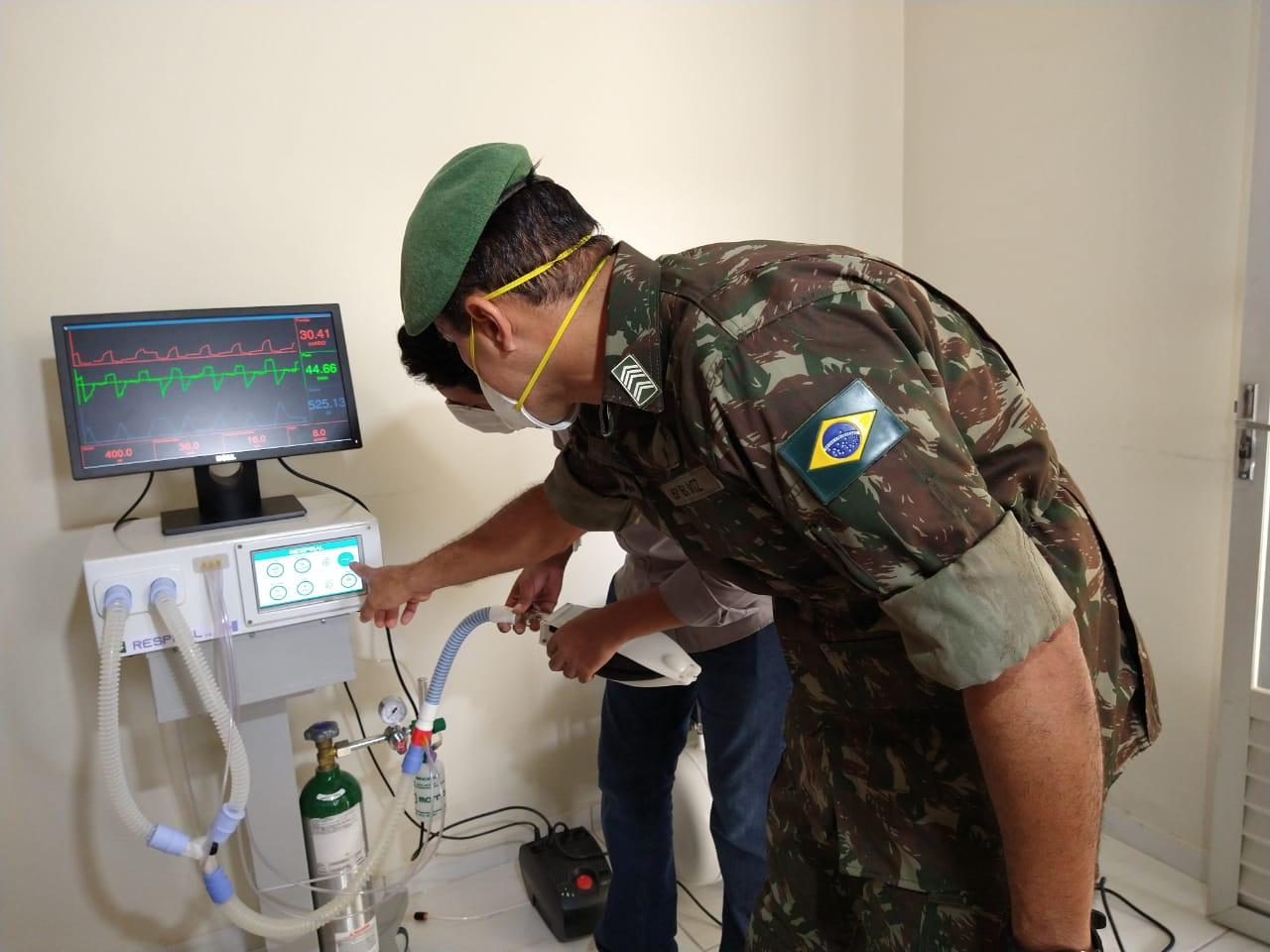 Equipe coordenada por sargento do Exército conclui protótipo e oferece projeto para produção em larga escala