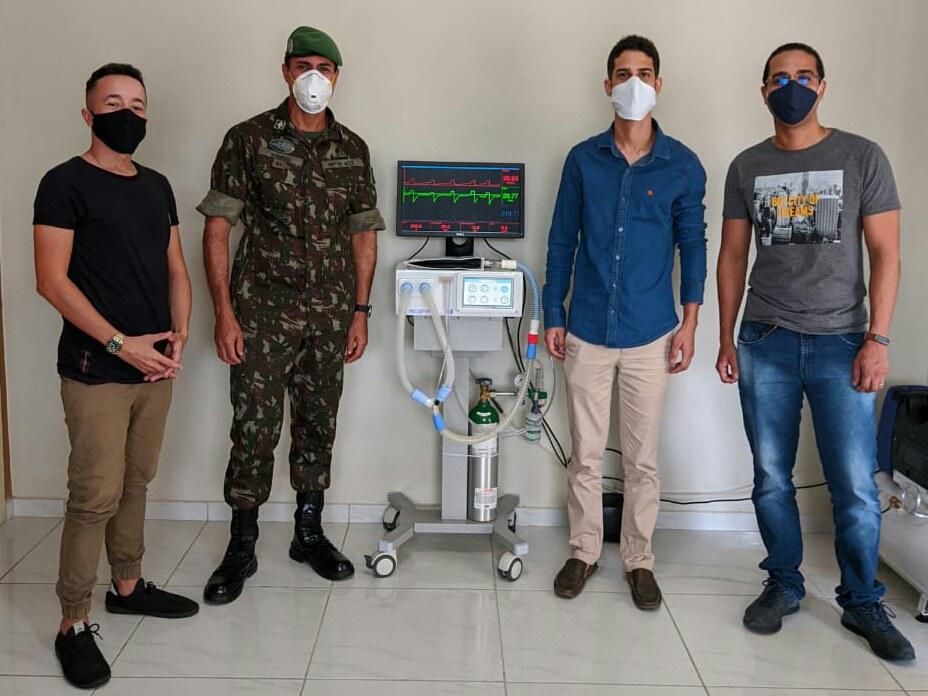 Equipe coordenada por Sargento das Forças Armadas conclui protótipo de respirador de baixo custo