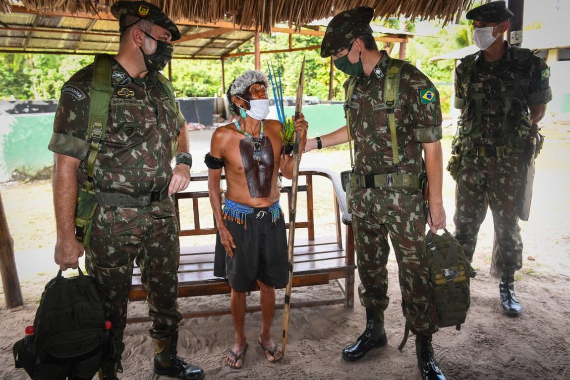 Forças da Defesa contribuem para a conservação da Amazônia e dos povos que nela habitam
