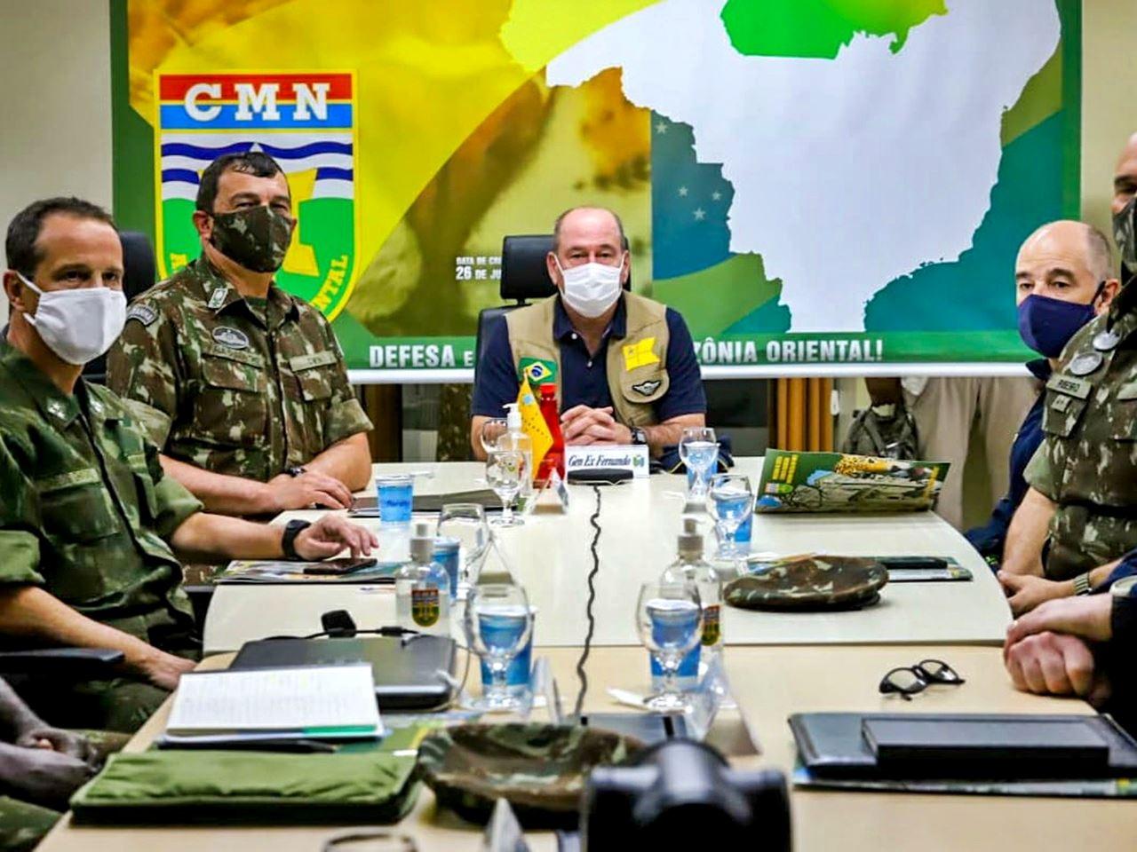 Ministro da Defesa verifica ações do Comando Conjunto Norte nas operações COVID-19 e Verde Brasil 2