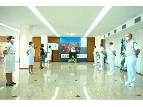 Marinha comemora os 40 anos de ingresso da mulher nas fileiras da Força