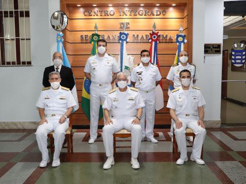 Marinha do Brasil realiza transmissão do cargo de Coordenador da Área Marítima do Atlântico Sul