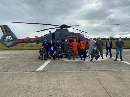 """Marinha do Brasil recebe segunda aeronave UH-17 para Operação """"Antártica"""""""