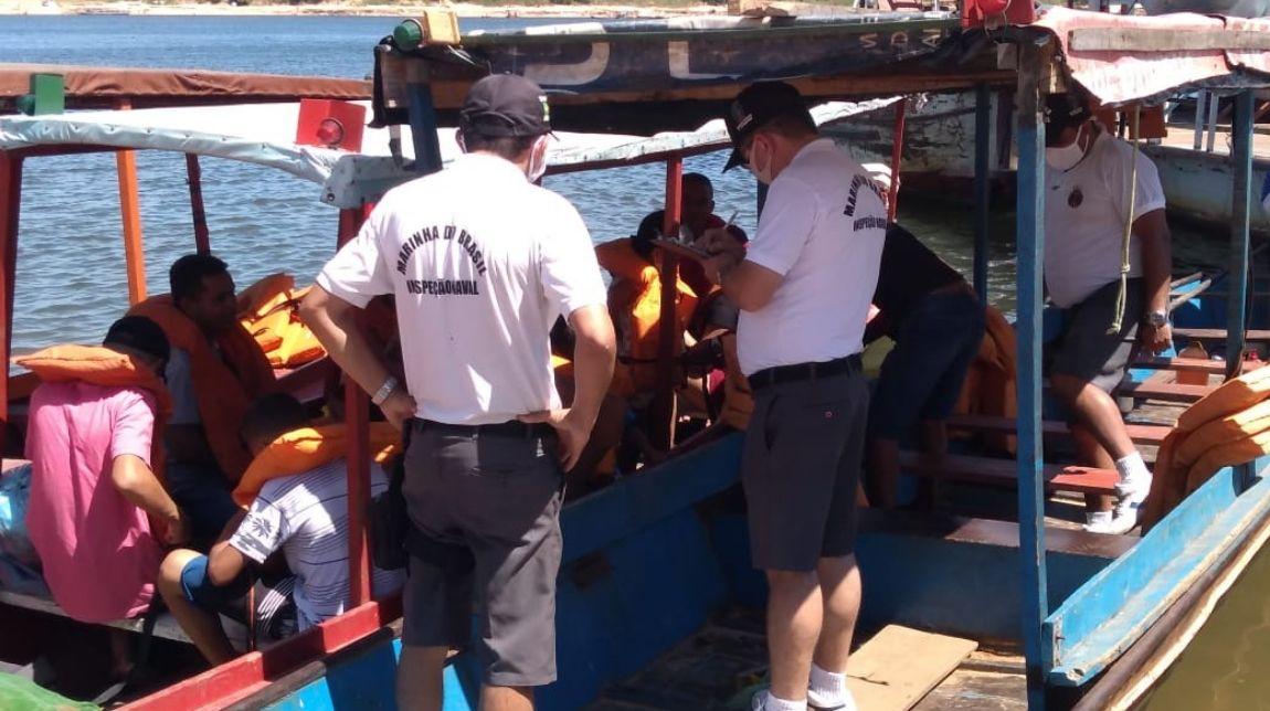 Militares intensificam inspeção naval no combate a delitos ambientais na Amazônia Legal