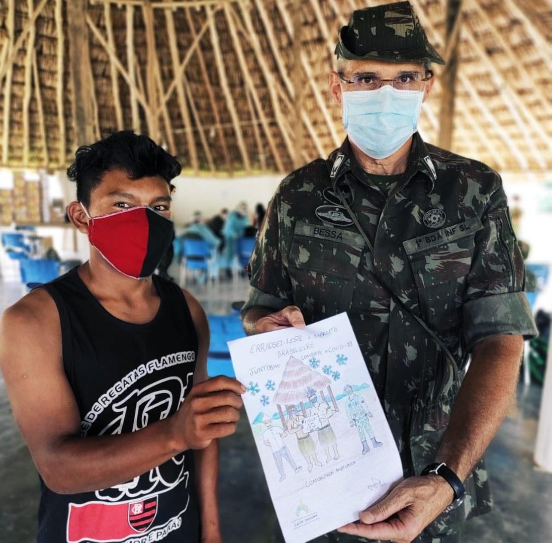 Militares profissionais de saúde atendem mais de 3,8 mil indígenas em Raposa Serra do Sol