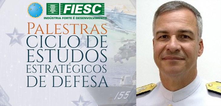 Pesquisa e Desenvolvimento do Setor Militar é tema de palestra no III Ciclo de Estudos Estratégicos de Defesa