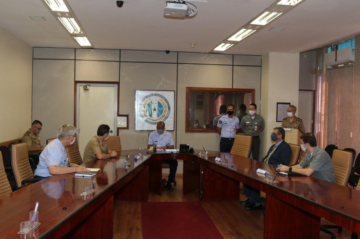 Reunião de Comando e Estado – Maior prepara militares do 20º Contingente brasileiro para missão de paz no Líbano
