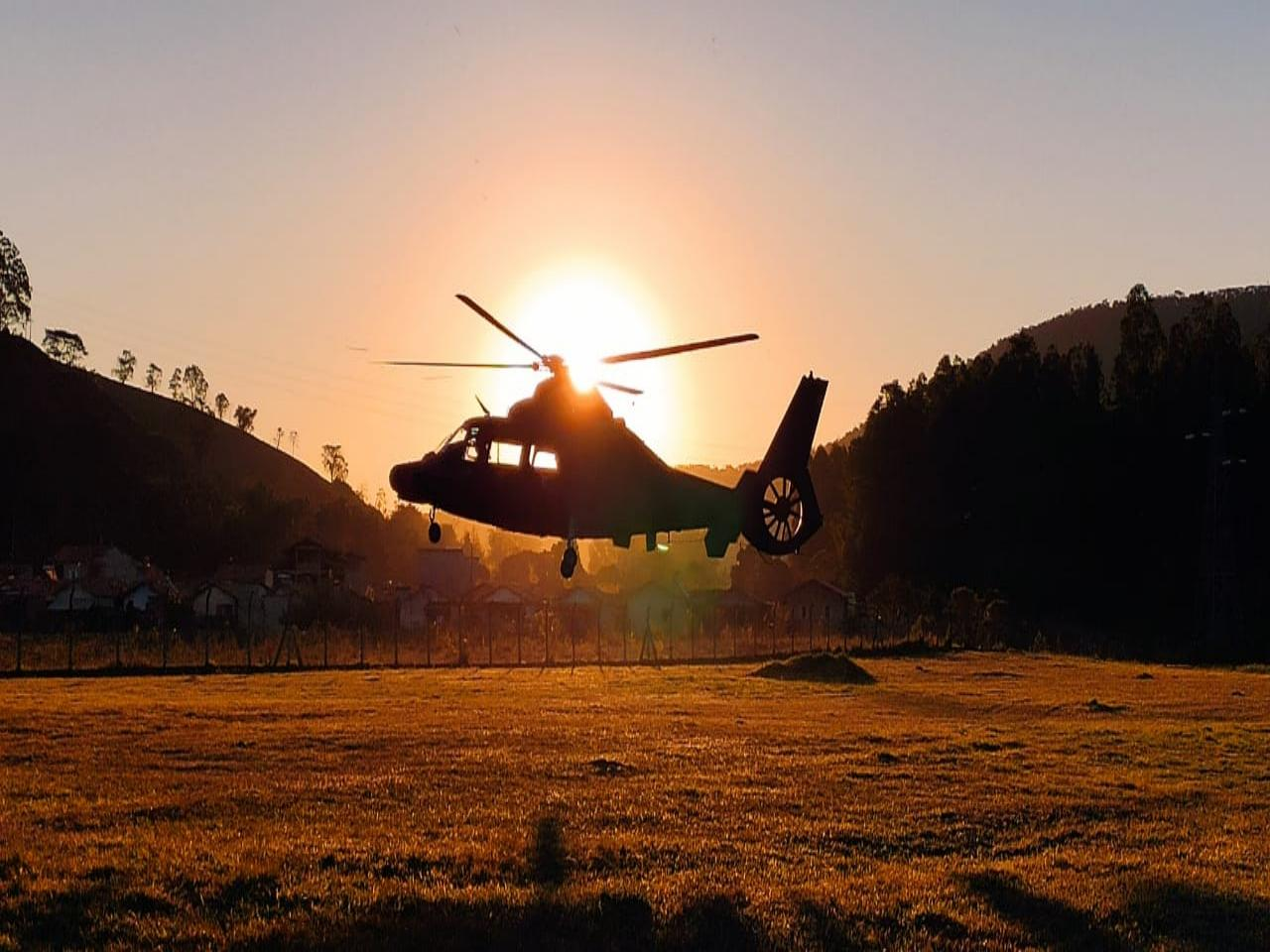Integração entre Aviação do Exército, Marinha e Corpo de Bombeiros mitiga danos de incêndio na Serra da Mantiqueira