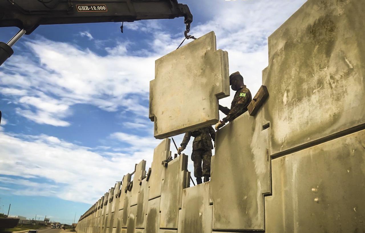Exército amplia capacidade de tráfego e segurança em trecho da rodovia BR-230, na Paraíba