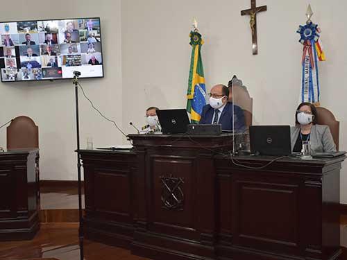 Tribunal Marítimo realiza sessão solene virtual alusiva aos seus 86 anos
