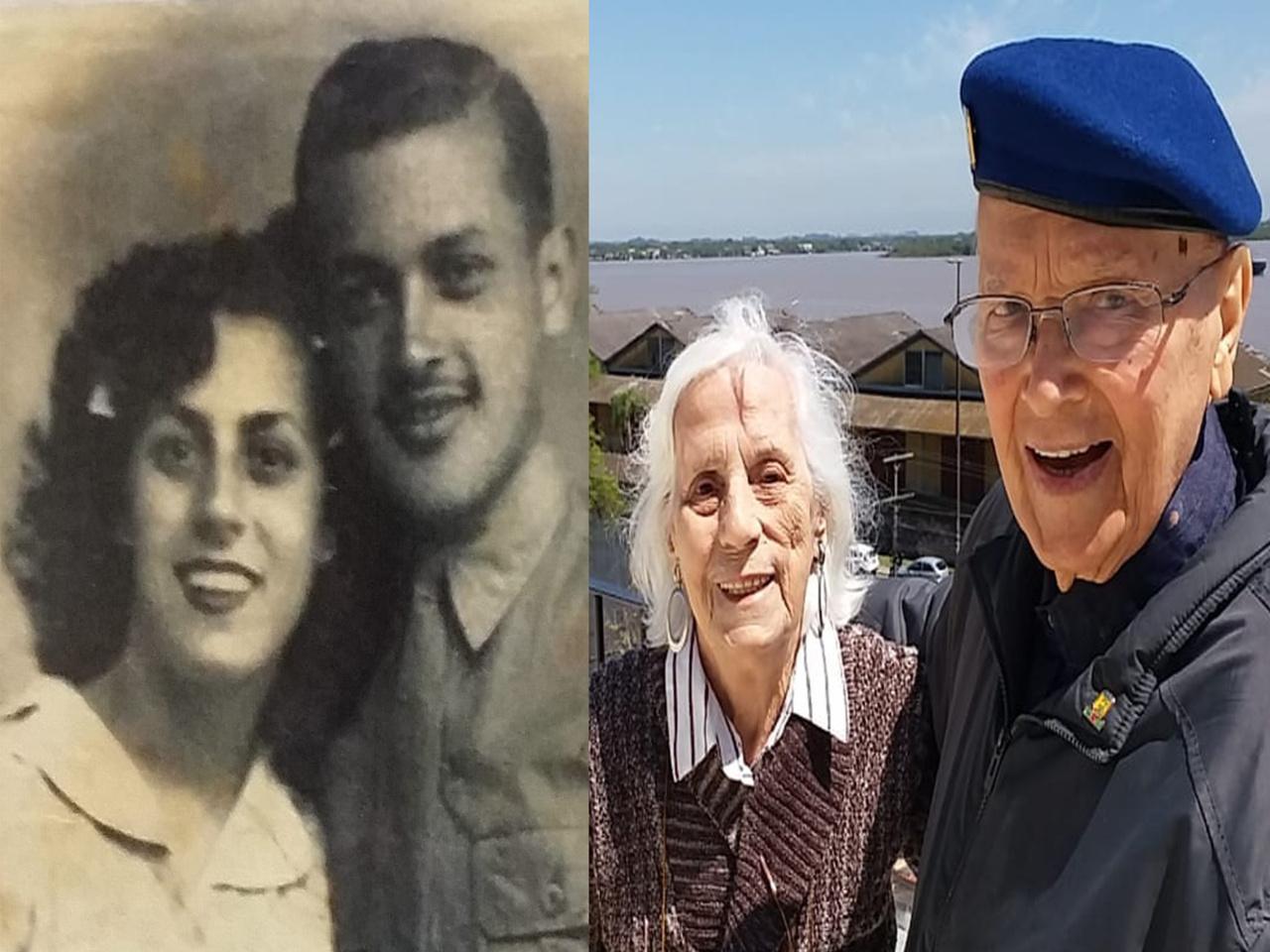 Veterano da FEB comemora 75 anos de uma história de amor iniciada durante maior conflito armado da humanidade