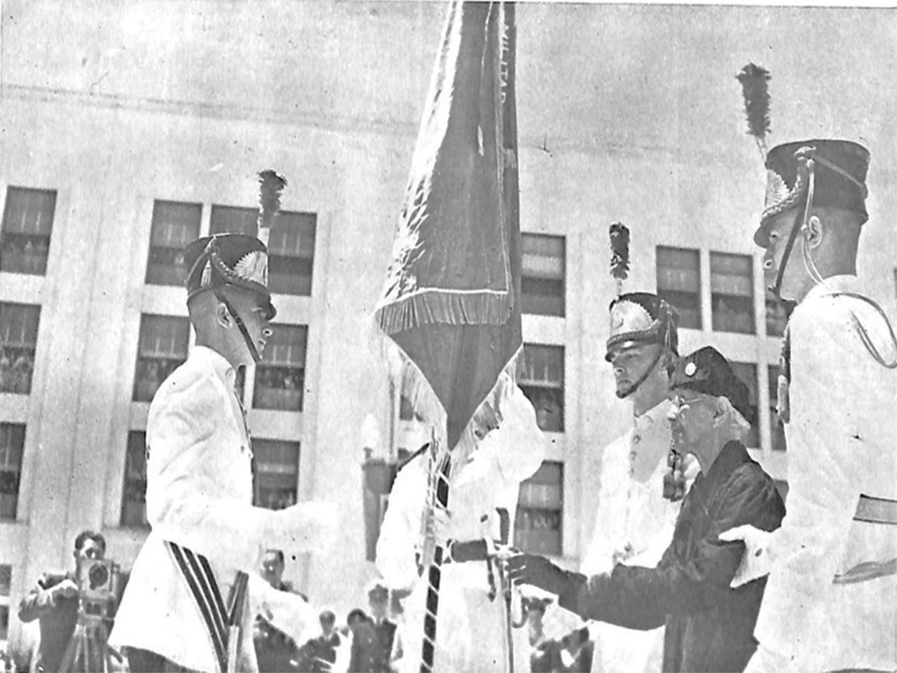 Academia Militar das Agulhas Negras rememora os 75 anos da primeira solenidade do Aspirantado