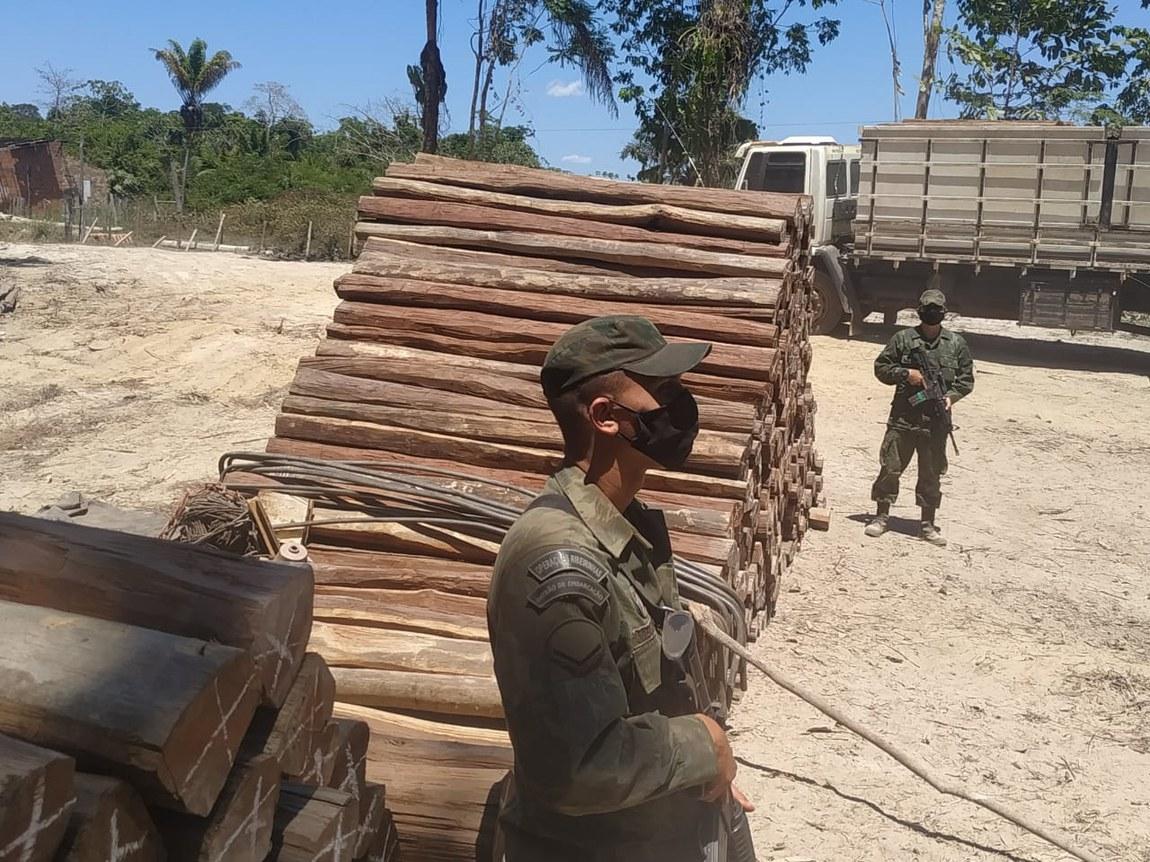 Ações de repressão a delitos ambientais são reforçadas na Amazônia Legal