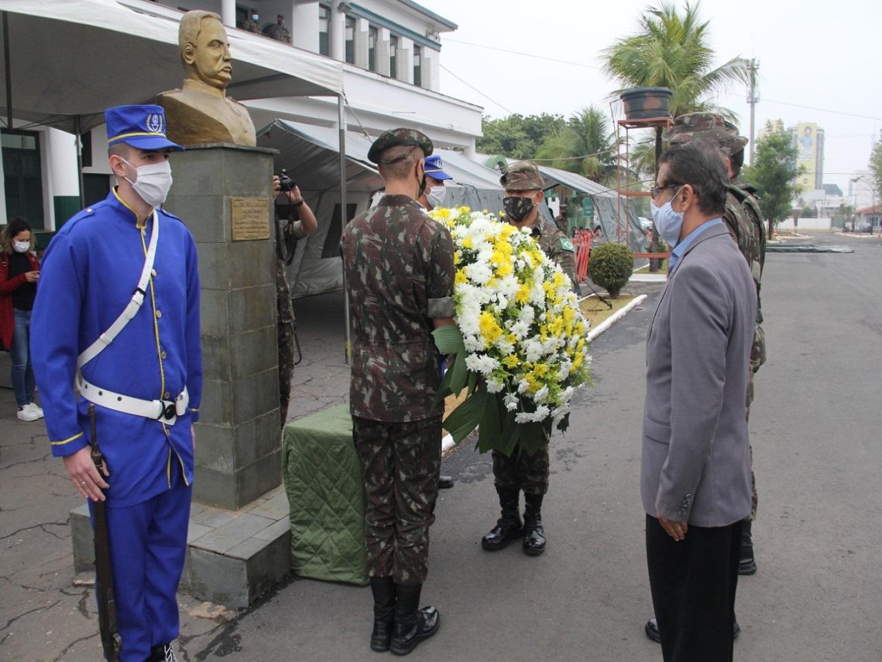 Batalhão Laguna comemora 178 anos de sua criação e o centenário de chegada em Cuiabá (MT)