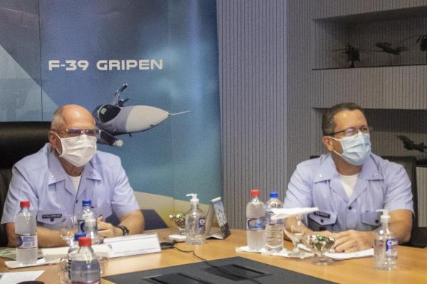 Comandante da Aeronáutica participa de audiência com Comandante da Air Force Southern