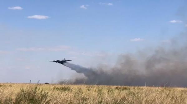 Combate a incêndios no Pantanal: Aeronaves da FAB continuam prestando apoio