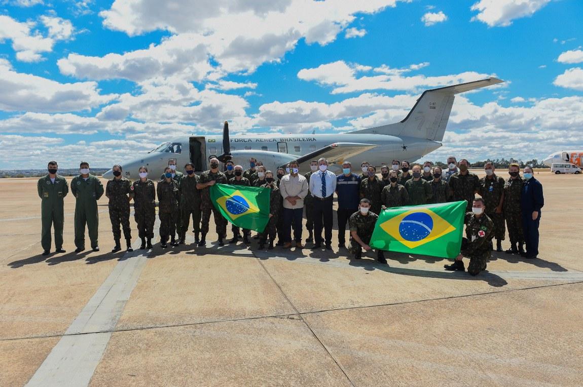 Defesa inicia terceira etapa da Missão Xavante, em apoio a indígenas da Região Centro-Oeste