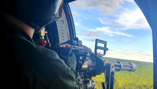 Esquadrão Harpia encerra Exercício Técnico Tiro Lateral na Serra do Cachimbo, no Pará