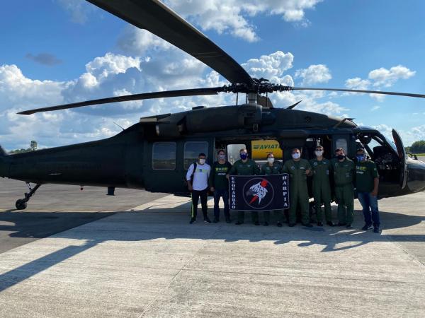 Esquadrão Harpia atua nas aldeias indígenas em apoio à Operação COVID-19