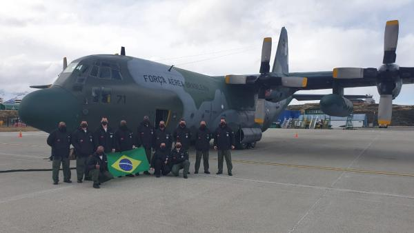 FAB realiza Transporte Aéreo Logístico para a nova Estação na Antártica