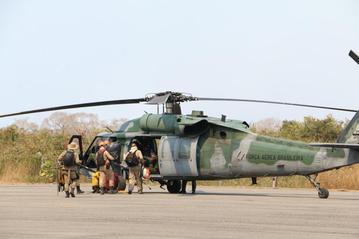 Forças Armadas apoiam o combate a incêndios no Pantanal