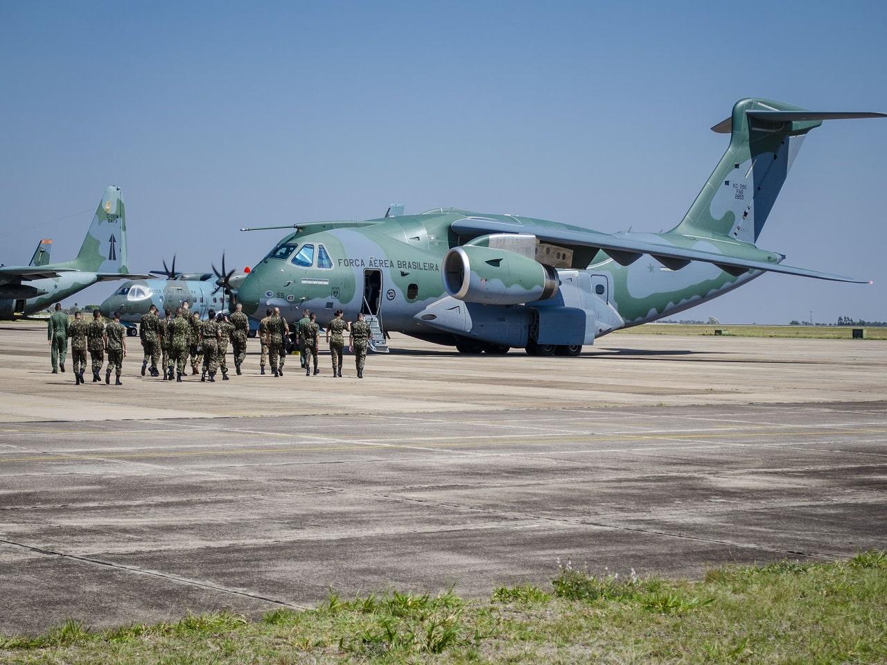 Mais de 500 integrantes do Comando Militar do Oeste seguem para Roraima no 9º Contingente de missão humanitária