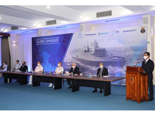 """Marinha e Emgepron realizam, com a SPE, a 2ª Reunião de Governança Estratégica relativa ao contrato de construção das Fragatas """"Classe Tamandaré"""""""