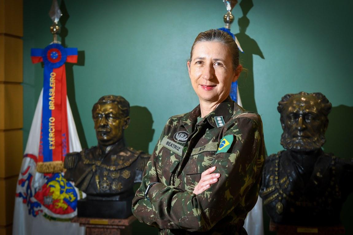 Militares do Exército celebram o Dia do Soldado