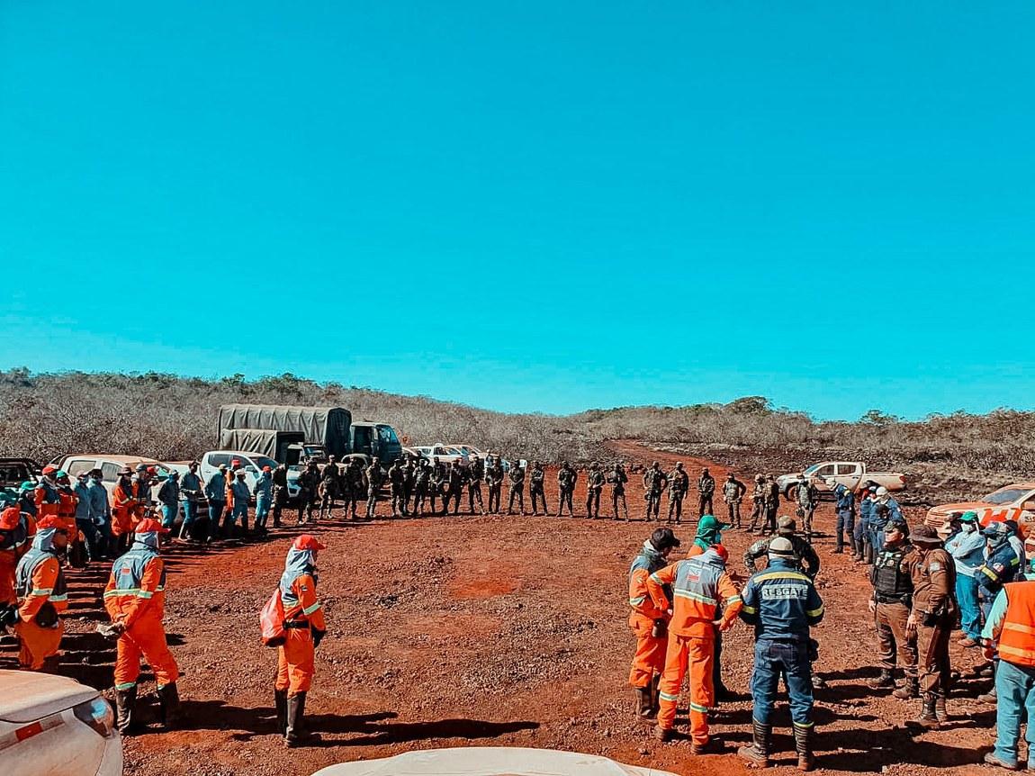 Operação Verde Brasil 2 combate incêndio na Serra dos Carajás (PA)
