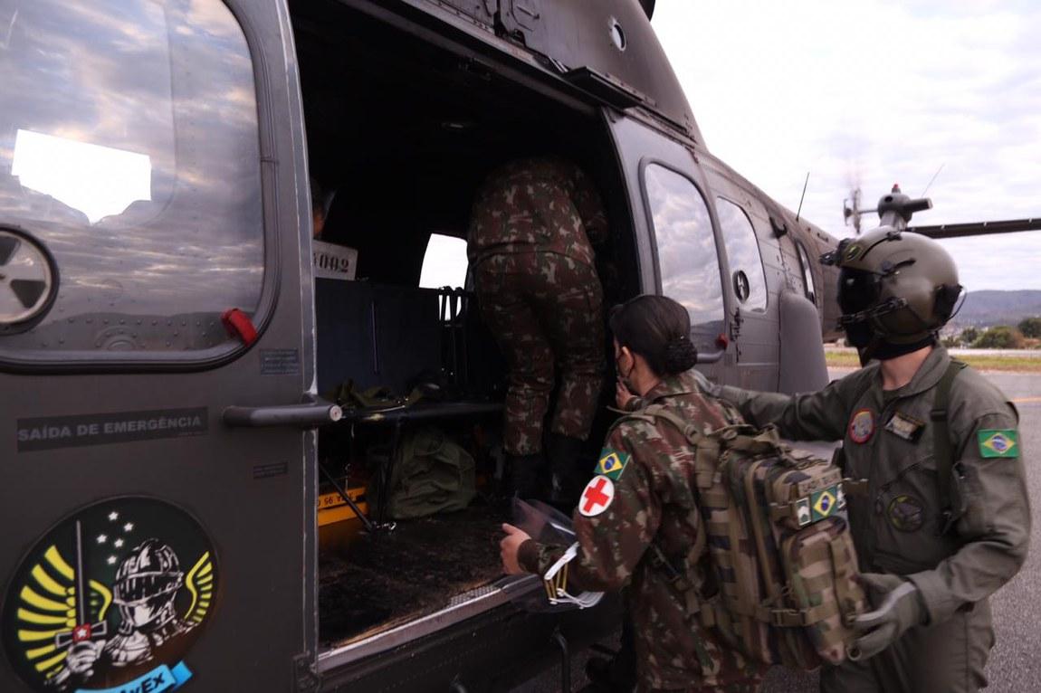 Ministérios da Defesa e da Saúde finalizam 1ª etapa de atendimento médico a indígenas Xavante