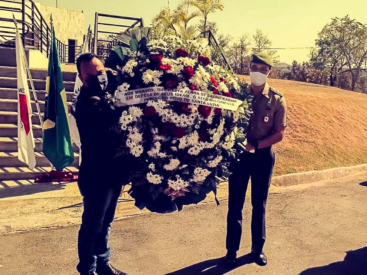 Em Belo Horizonte (MG), comemoração dos 178 anos da Batalha de Santa Luzia