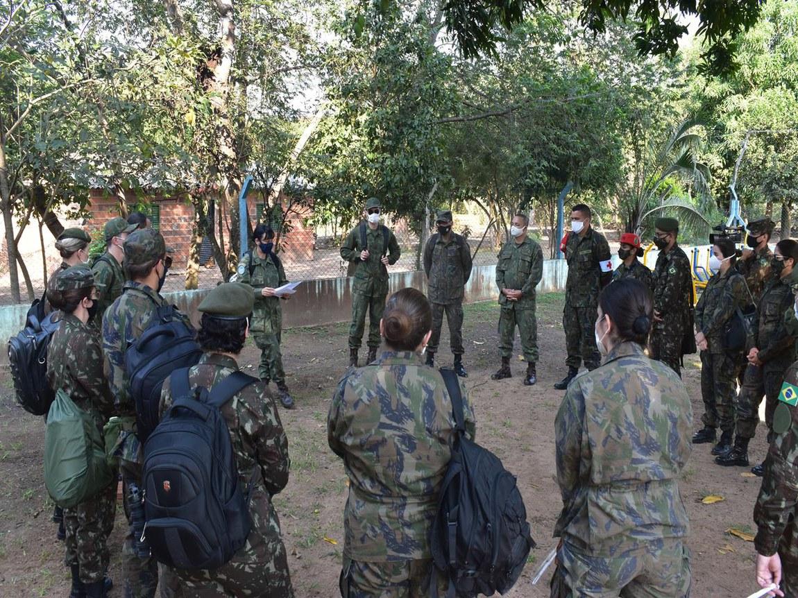 Missão em aldeia indígena é concluída com sucesso