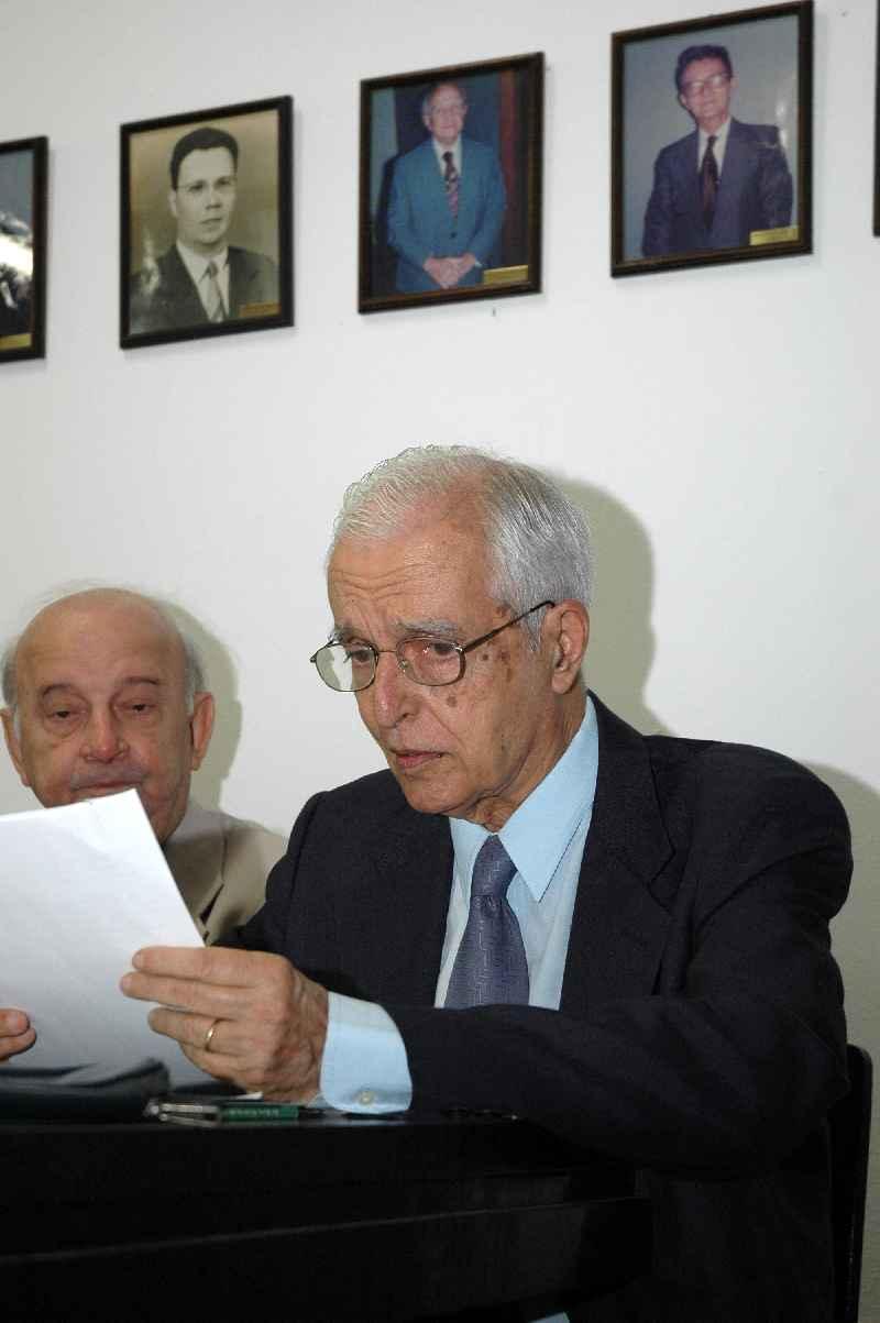 Nota de Falecimento – Professor Engº. Pedro Carlos da Silva Telles