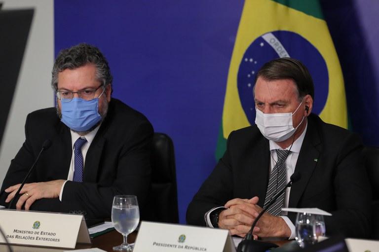 Presidente defende a modernização do Mercosul