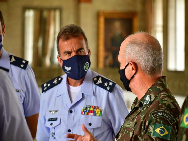 Visita institucional da Força Aérea Brasileira ao CML