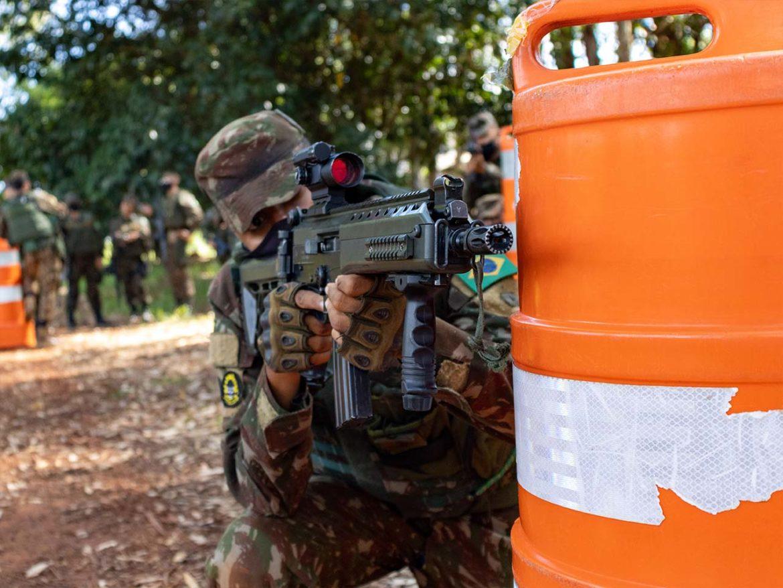Exército promove Estágio de Técnicas e Procedimentos em Operações Urbanas