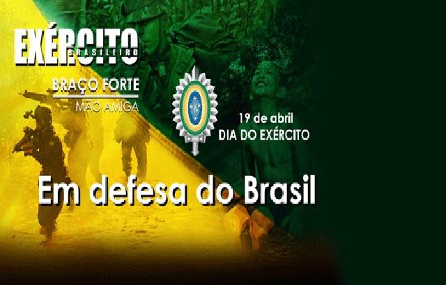 Dia do Exército Brasileiro – 19 de abril