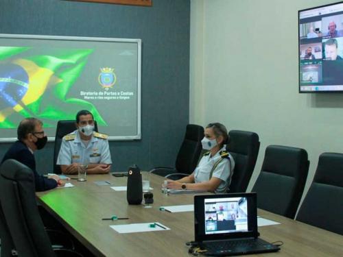 Autoridade Marítima Brasileira participa de evento internacional sobre Posicionamento Dinâmico