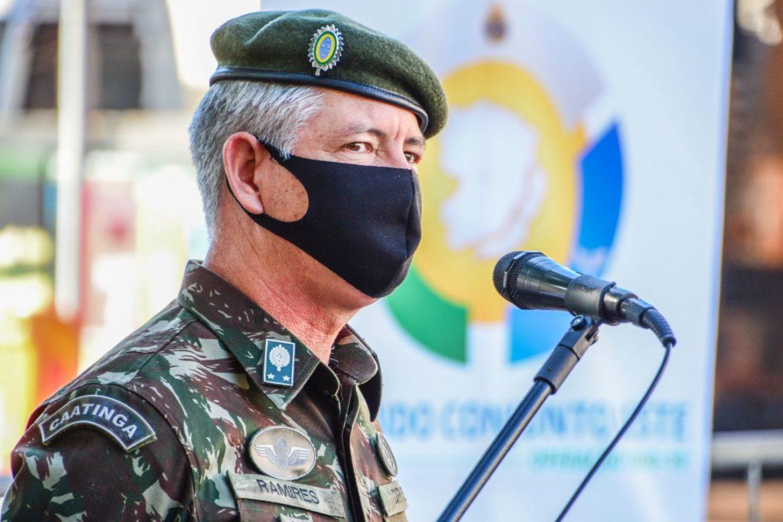 Comando Conjunto Leste monta dois postos de vacinação contra a covid-19 no Rio de Janeiro #EBpreservandovidas