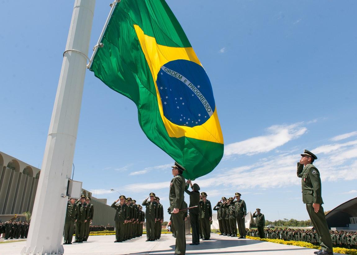 Defesa celebra o 190º Dia do Hino Nacional Brasileiro