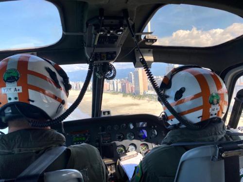 1° Esquadrão de Helicópteros de Emprego Geral realiza missão em apoio ao Comando do 8° Distrito Naval