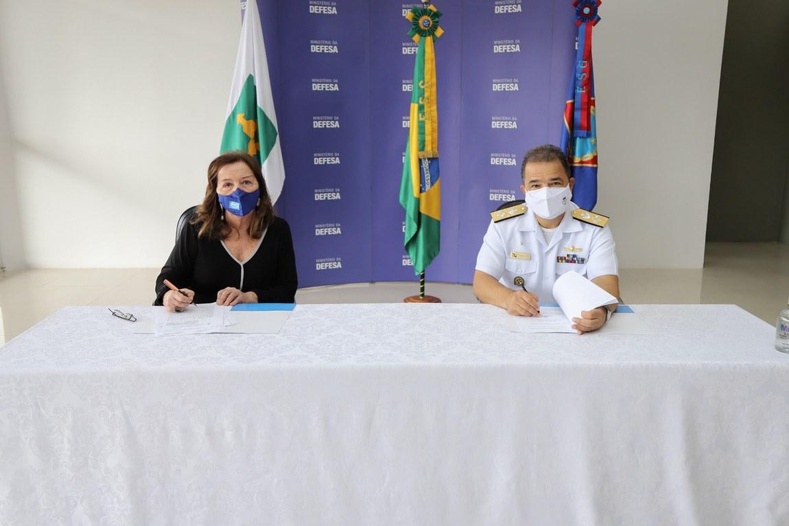 Escola Superior de Guerra fecha acordo com a Secretaria de Educação do DF para início do PROFESP no campus Brasília