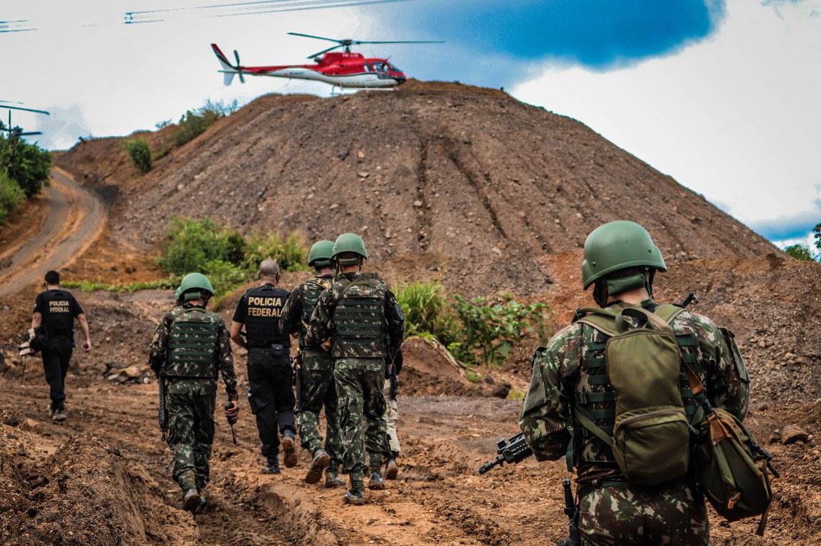 Militares identificam crimes ambientais durante inspeção em linhas de transmissão de Belo Monte