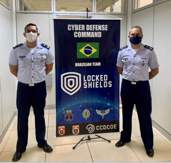 Núcleo do Centro de Defesa Cibernética da Aeronáutica participa do Locked Shields 2021