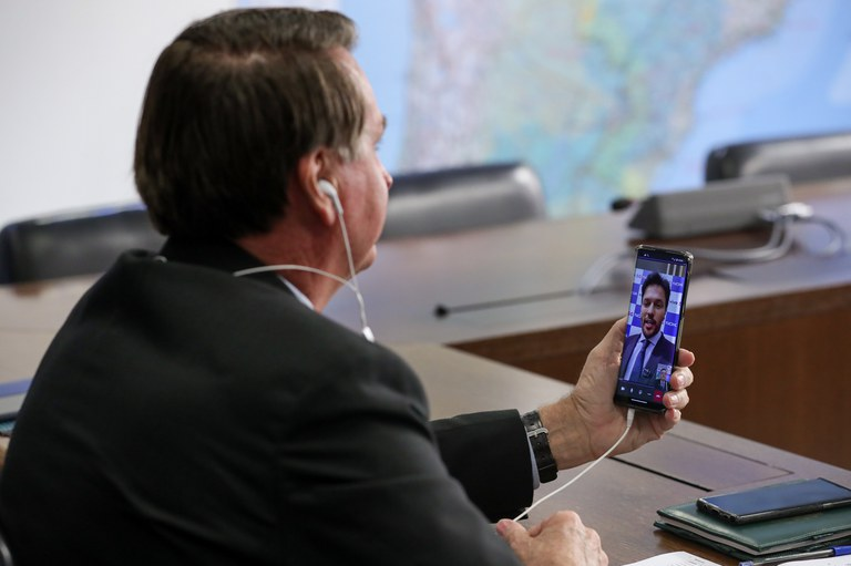 Primeira videochamada feita na América Latina com 5G puro
