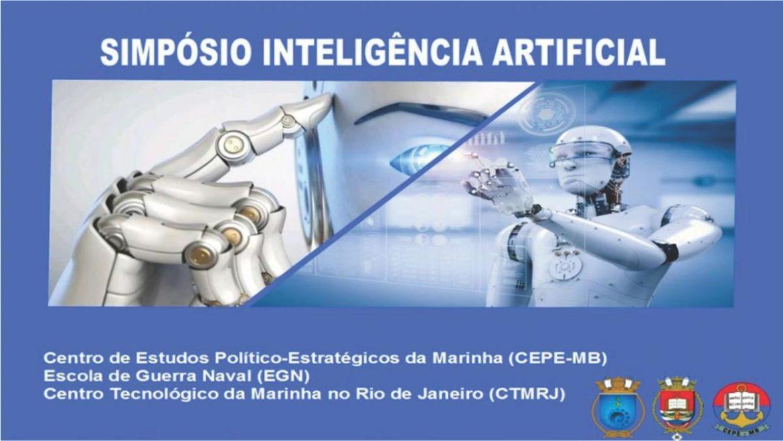 """Simpósio debate a """"Inteligência Artificial"""" sob uma abordagem marítima e naval"""